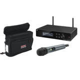 Sennheiser XSW 2-835-A Wireless Handheld Microphone System with Gator GM-1W Carrying Bag