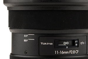 TOKINA ATX-i 11-16mm CF f/2.8 Lens for Nikon EF (APS-C)