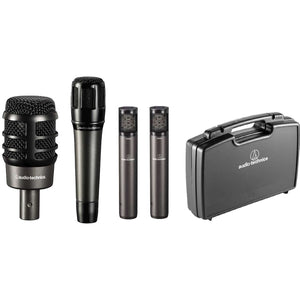 Audio-Technica Artist Series Drum Microphone Set (4-Piece) #ATM-DRUM4 - The Camera Box