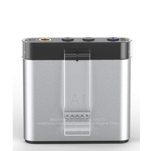 FiiO A1 Portable Headphone Amplifier (Silver) - The Camera Box