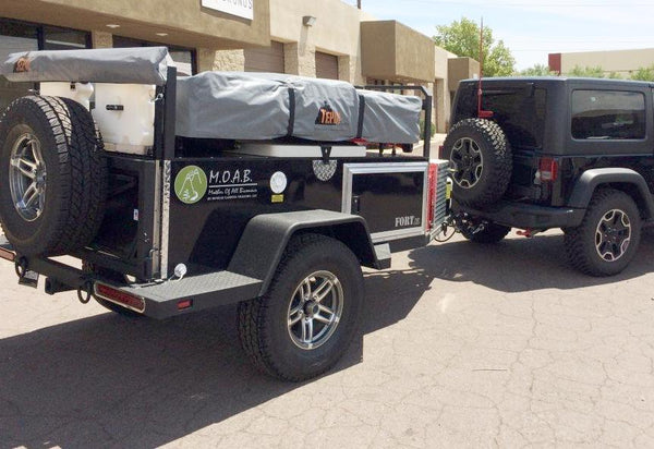 Fort XL Trailer: Expedition Trailer for Off Road Camping