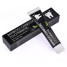 Load image into Gallery viewer, Activated Bamboo Charcoal Toothpaste w/ FREE Gift!