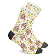 Load image into Gallery viewer, Flamingo Custom Socks - Make Face Socks