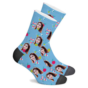 Bikini Custom Socks - Make Face Socks