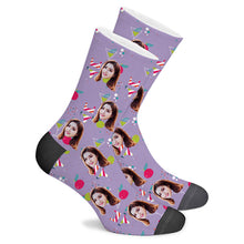 Load image into Gallery viewer,  Bikini Custom Socks - Make Face Socks