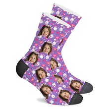Load image into Gallery viewer, Childishness Custom Socks - Make Face Socks