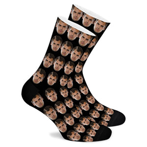 New Face Custom Socks - Make Face Socks