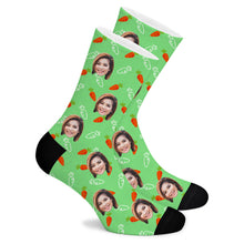 Load image into Gallery viewer, Turnip Custom Socks - Make Face Socks