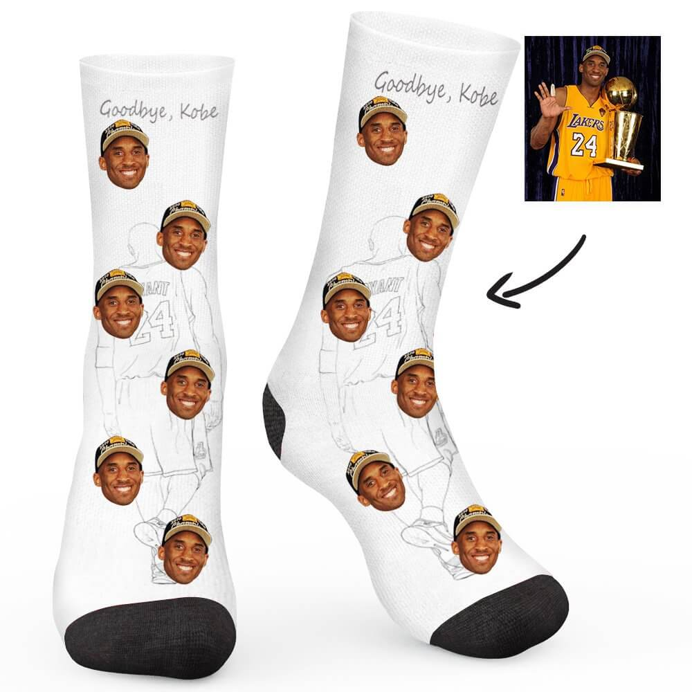 Kobe Custom Socks - Make Face Socks