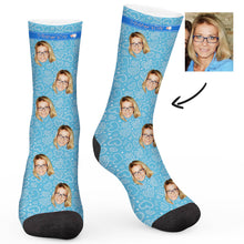 Load image into Gallery viewer, Mother's day love Custom Socks - Make Face Socks