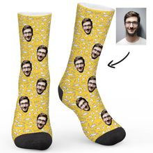 Load image into Gallery viewer, Men's Elements Custom Sock - Make Face Socks
