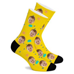 Good Weather Custom Socks - Make Face Socks
