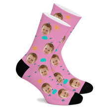 Load image into Gallery viewer, Good Weather Custom Socks - Make Face Socks