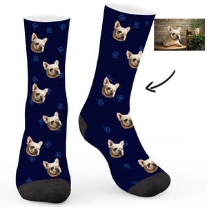 Dog Food Custom Socks - Make Face Socks