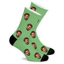 Load image into Gallery viewer, Custom Face Socks - Make Face Socks