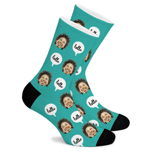 Hello Custom Socks - Make Face Socks