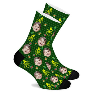 Christmas Custom Socks Best Daughter - Make Face Socks