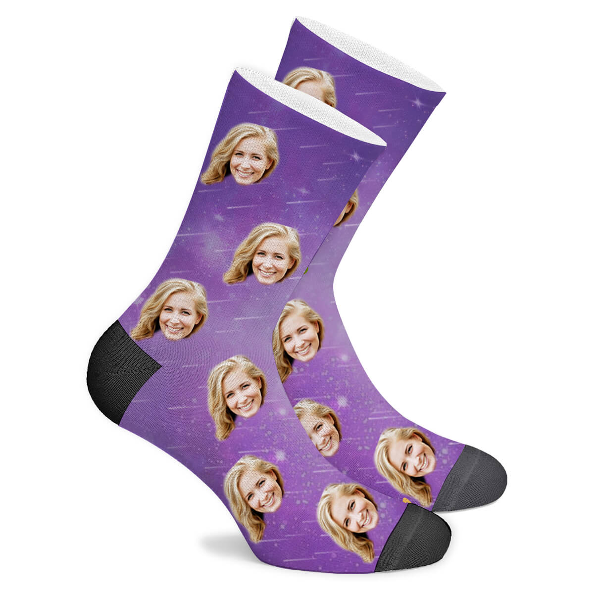 Custom GalaxySocks - Make Face Socks