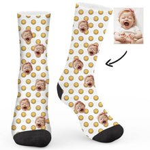 Load image into Gallery viewer, Smiley Collection Custom Socks - Make Face Socks