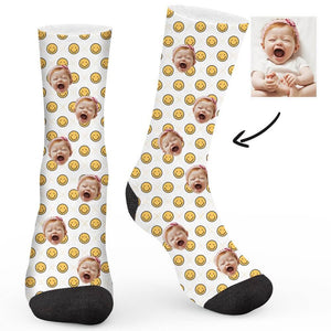 Smiley Collection Custom Socks - Make Face Socks