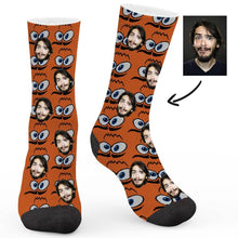 Load image into Gallery viewer, Funny Face Custom Socks - Make Face Socks