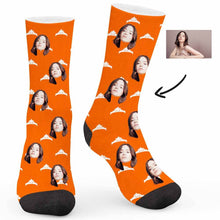 Load image into Gallery viewer, Queen's Crown Custom Socks - Make Face Socks