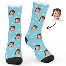 Load image into Gallery viewer, Pink Fish Custom Socks - Make Face Socks