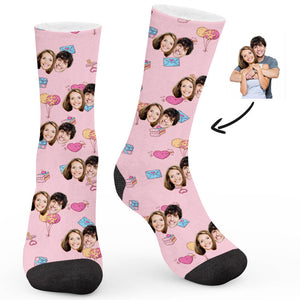 Love Element Custom Socks - Make Face Socks