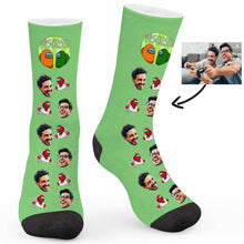 Load image into Gallery viewer, Among US Element Custom Socks - Make Face Socks