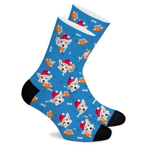 Custom Sock Dog Mom - Make Face Socks
