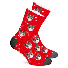 Load image into Gallery viewer, Custom Socks Cat - Make Face Socks