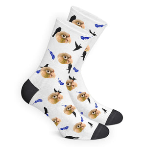 Custom Bird Socks - Make Face Socks