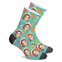Load image into Gallery viewer, Custom Painted Egg Socks - Make Face Socks