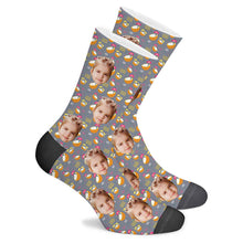 Load image into Gallery viewer, Coconut Custom Socks - Make Face Socks
