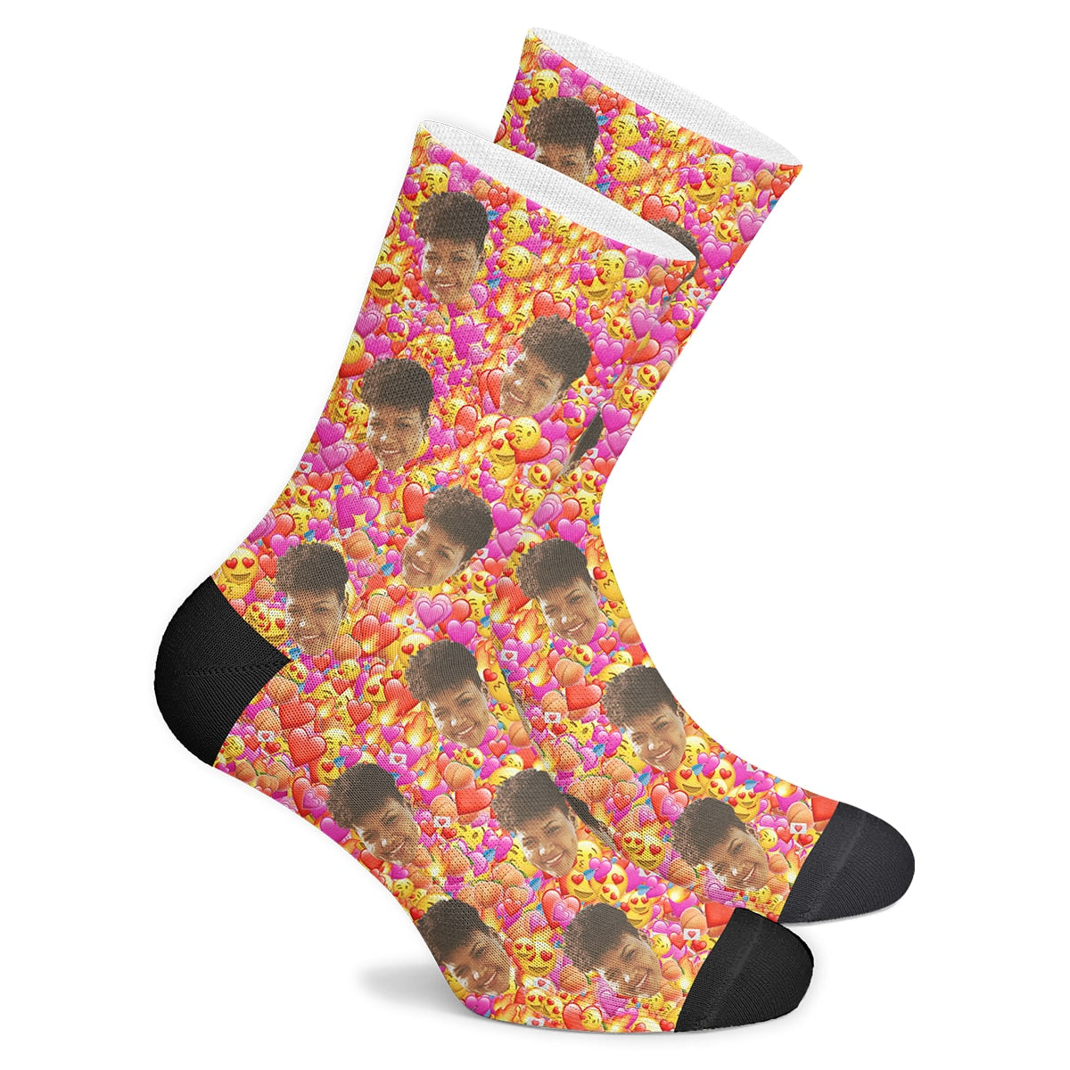 Custom EmojiSocks - Make Face Socks