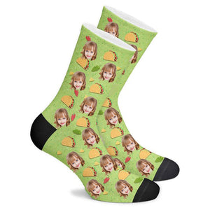 Custom Taco Socks - Make Face Socks