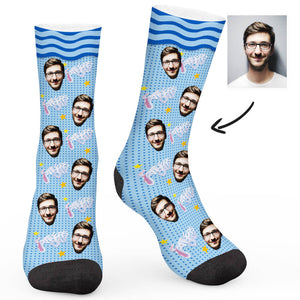Father's Day Custom Socks - Make Face Socks