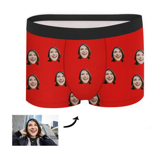 Custom Face Boxer - Colorful - Make Face Socks