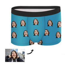 Load image into Gallery viewer, Custom Face Boxer - Colorful - Make Face Socks