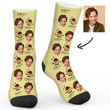 Load image into Gallery viewer, Best Dad Ever Custom Socks - Make Face Socks