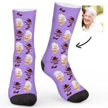 Load image into Gallery viewer, Best Mom Ever Custom Socks - Make Face Socks