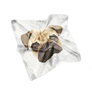 Pug Face Scarf - Joy Street