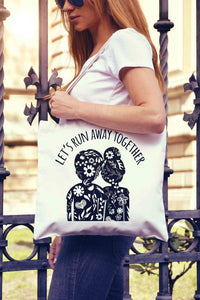 V-Day Tote Bag - Joy Street