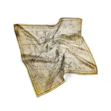 Load image into Gallery viewer, Horse and Map Silk Scarf - Joy Street