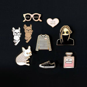 Dog Mom Enamel Pin - Joy Street