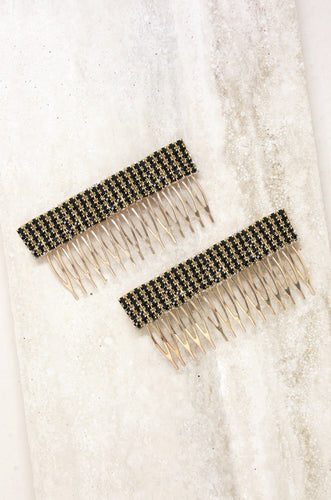Hair Comb Set in Black - Joy Street
