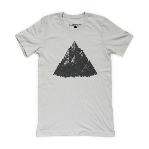 High Peak Tee-Silver - Joy Street