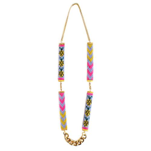 Pineapple Beaded Necklace - Joy Street