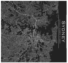 Load image into Gallery viewer, Sydney Engraved Map Tumbler - Matte Black - Joy Street