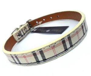 Signature Tartan Dog Collar - Joy Street